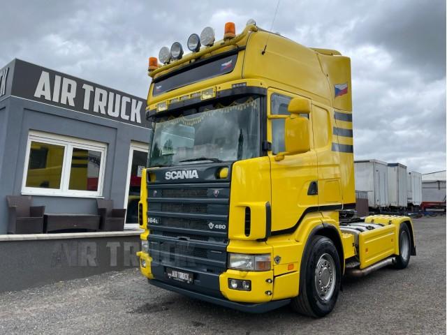 Scania V8 480 4X2 - TOPLINE RETARDÉR - MANUÁL